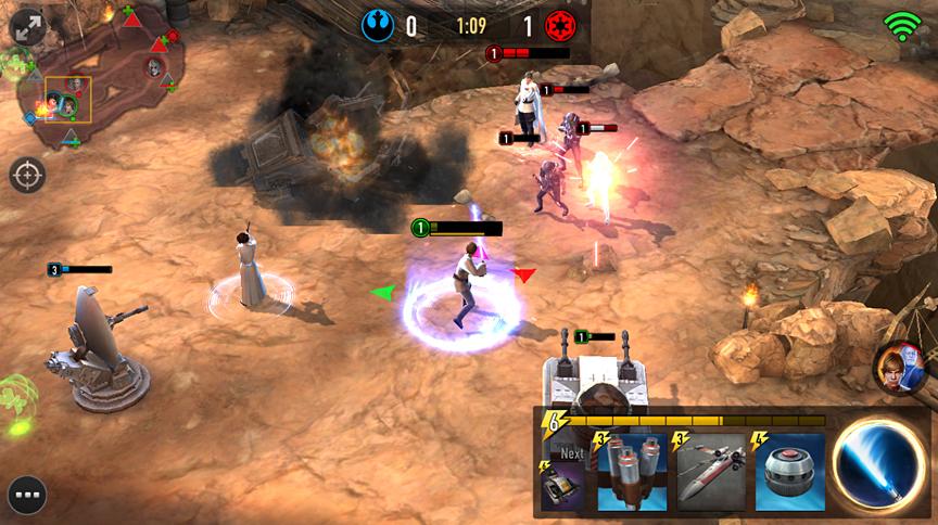 Bildergebnis für star wars force arena